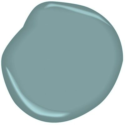 Benjamin Moore Williamsburg Wythe Blue CW-590 A classic that never goes out of style, this beautiful hybrid blue pairs a hint of Prussian blue with a gray base paint.