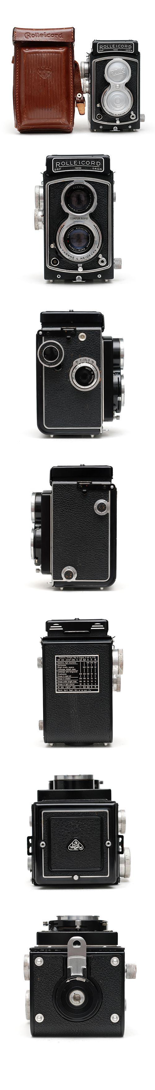 The Rolleicord, a lower-cost version of the immortal Rolleiflex.