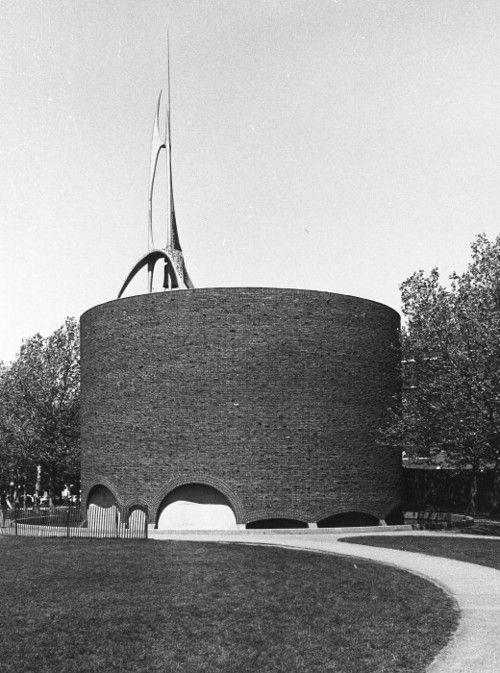 AD Classics: MIT Chapel / Eero Saarinen https://emfurn.com/collections/eero-saarinen
