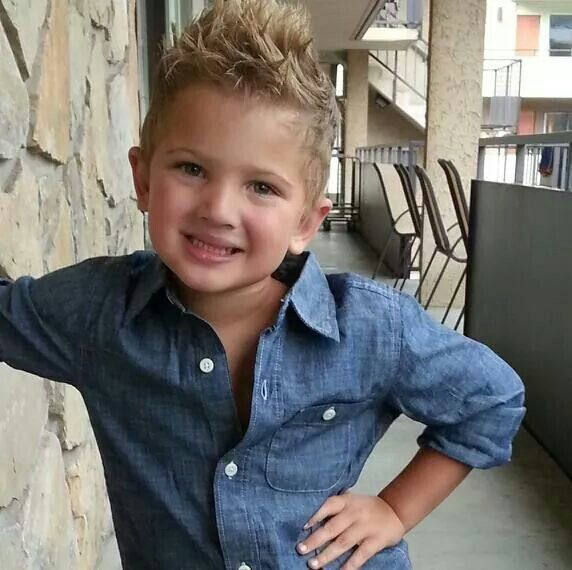 toddler boy spiky hair to the side - Google Search
