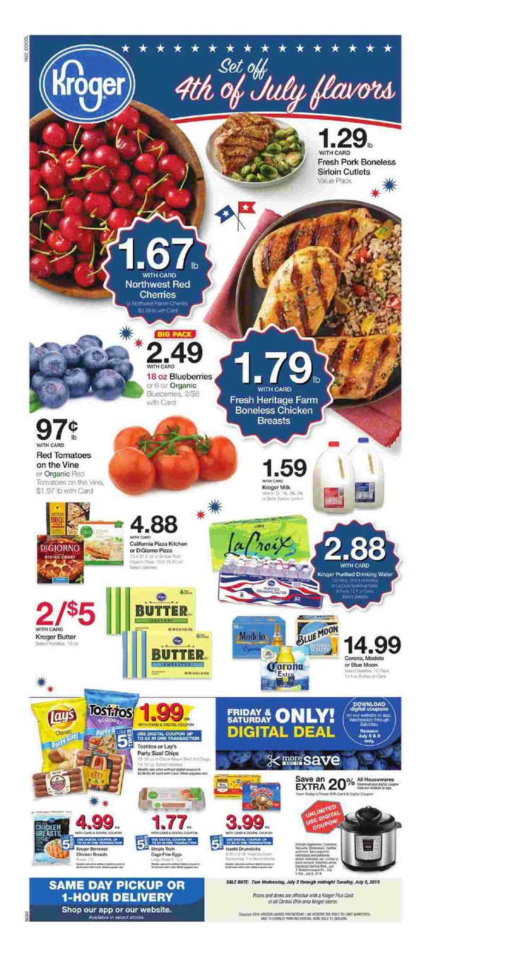 Kroger weekly ad flyer march 11 17 2020 gift card mall