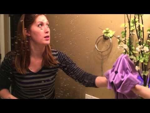 Norwex Window Cloth Demo - YouTube