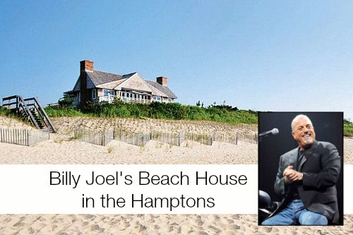 Billy Joel's Hamptons Beach House For Sale Sold maybe but here is what it looked like when he was there
