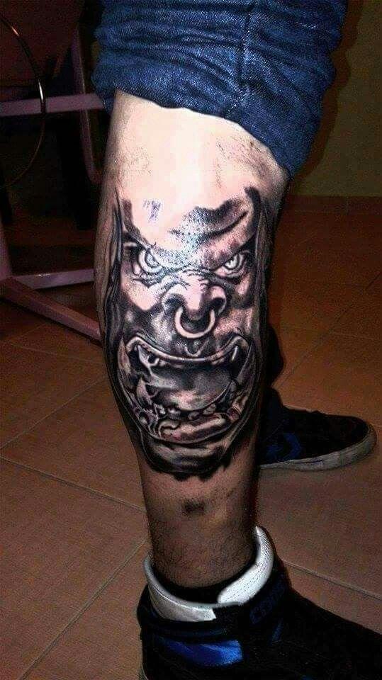 Warcraft tattoo