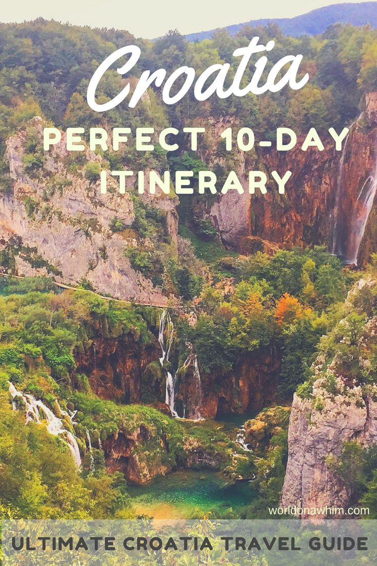 Planning your trip to Croatia? Croatia in 10 days is a perfect amount of time to get a feel for the country! Read the Croatia itinerary and I will walk you though exactly how to do your 10 days in Croatia. Zagreb, Plitvice Lakes Croatia, Zadar, Split, Hvar, Dubrovnik, things to do in Croatia, best places to visit in Croatia, where to go in Croatia, croatia travel guide, best Croatian islands, dalmatian coast Croatia, what to do in Croatia, best Croatian islands, croatia travel blog,