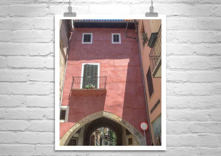 Palma, Majorca, Spain, Architecture Art, Travel Photography, Moorish Arch, Mallorca, Spanish Architecture, Mediterranean Sea, Fine Art Print by MurrayBolesta on Etsy