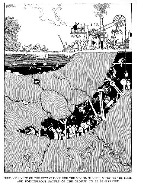 William Heath Robinson (1872 – 1944). ART & ARTISTS: W. Heath Robinson – part 18