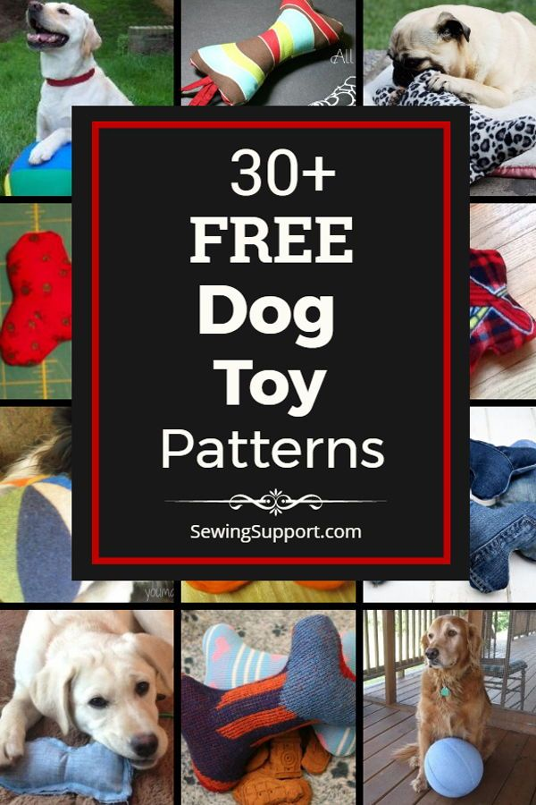 Diy Dog Toys To Sew 30 Free Dog Toy Diy Projects Tutorials And