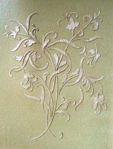 Plaster Stencil Large Mystic Wall Stencil Paint Stencil | VictoriaLarsen - Craft Supplies on ArtFire