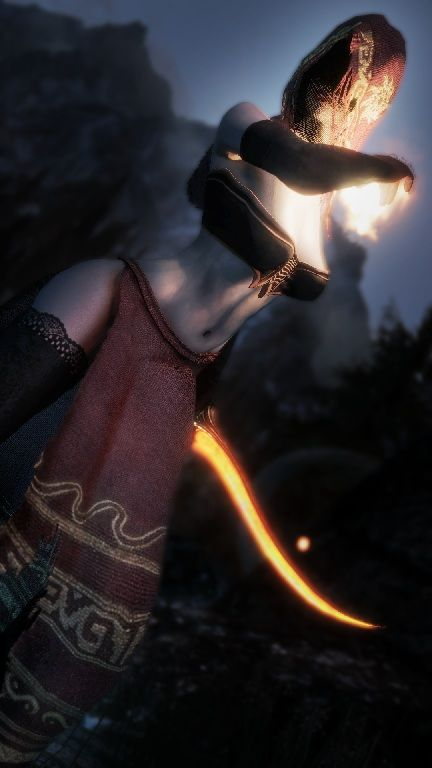 Desert Pyromancer by Team TAL ~ ESkyrim | Skyrim Mods