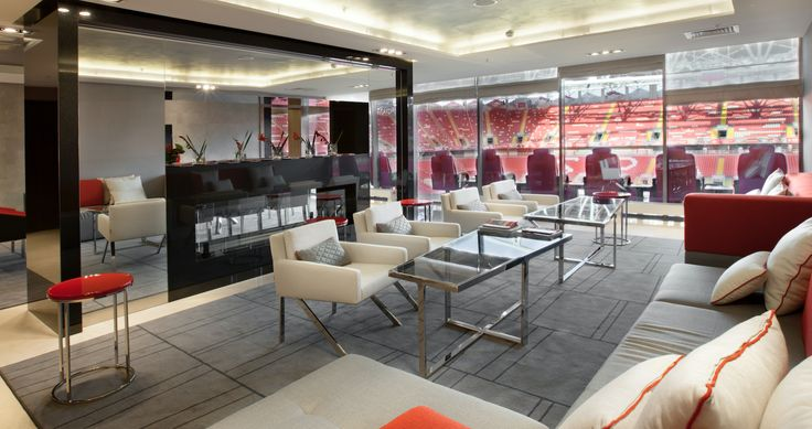 VIP area FC Spartak Moscow - what a great project, signed by Paulo Antunes