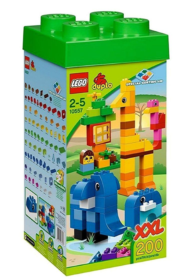 NIB! LEGO DUPLO 10557 Giant Tower XXL 200 Pieces with storage box