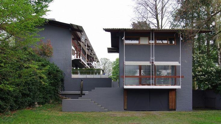 """Egon Eiermanns Wohnhaus in Baden-Baden: """"Ich frage mich zuerst, ob etwas richtig und dann, ob etwas schön ist."""" ― Egon Eiermann ©Rainer Lück/Wikimedia Commons"""