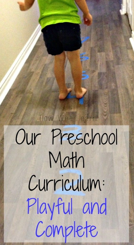 Preschool Math Activities: counting, Recognizing numbers, One-to-one correspondence, Shapes, Measuring, and Patterns