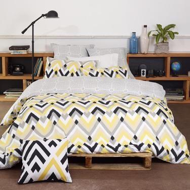 Brampton House Campbell Quilt Cover Set Yellow King | Spotlight Australia