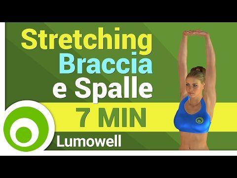 Stretching Braccia e Spalle - Esercizi di allungamento per braccia e spalle - YouTube