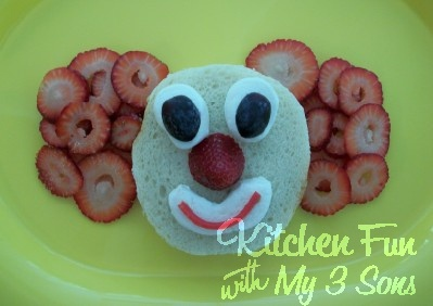 Kitchen Fun With My 3 Sons: Clown Lunch