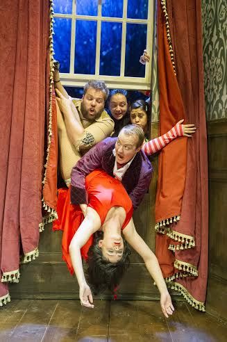 theplaythatwentwrong The Play That Goes Wrong Review http://www.frostmagazine.com/2014/12/the-play-that-goes-wrong-review/ #theatre #London