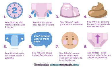 Dicas Para Reconhecer Se o Seu Bebê Já Pode Desfraldar