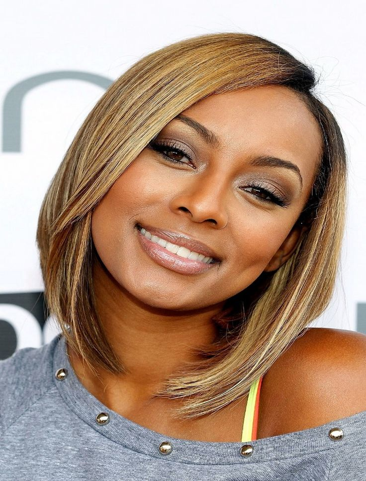 Choppy Medium Length Hairstyles For African American Women