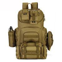 40L Waterproof Molle Backpacks Military 3P Tactics Backpack Assault Nylon Travel Bag for Men Women Mochila Escolar H88