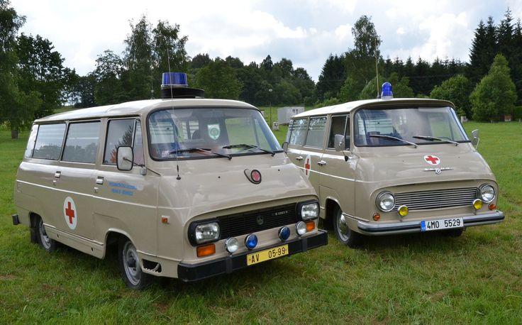 TAZ 1203 (Slovakia) and Skoda 1203
