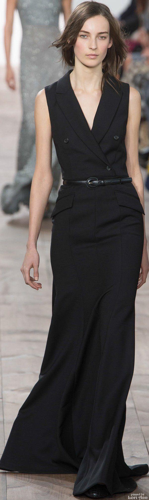 Michael Kors Fall 2015 RTW// beatiful business or funeral attire