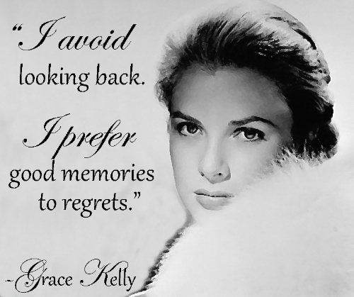 Grace Kelly.
