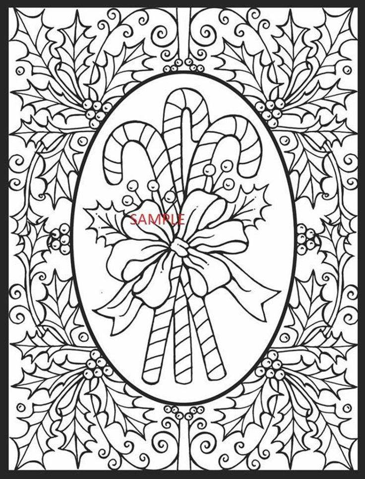 Christmas Square Cross Stitch Chart | Christmas coloring ...