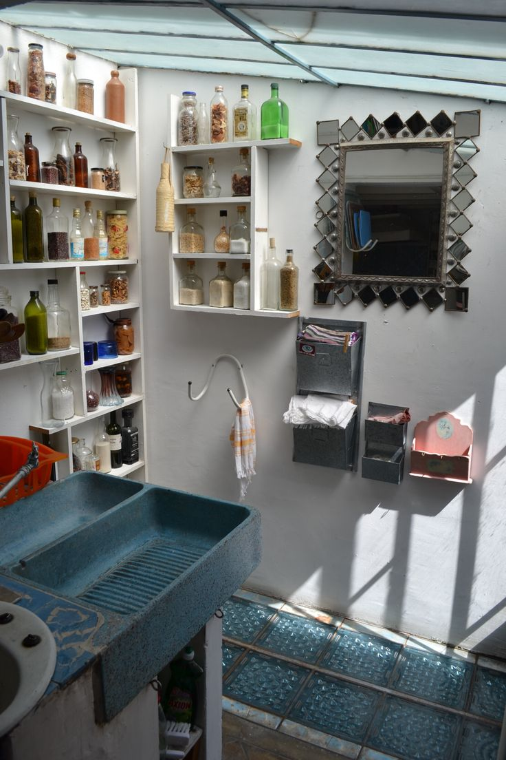 Mexico City AirBnB | Amazing Pantry | Post: This is Mexico City's Most Charming House | The Good Hacienda | by Hilary