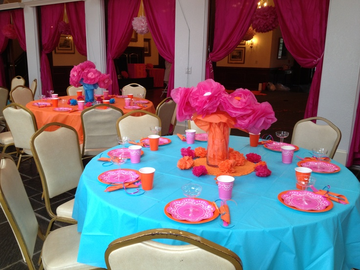 Kids 5th birthday party bollywood theme beautiful table for 5th birthday decoration ideas