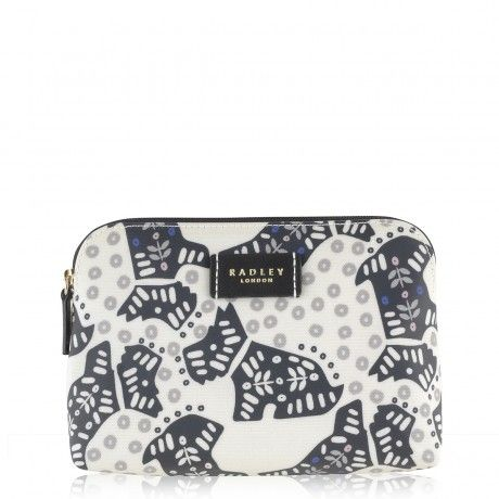 Nylon Zip-Top Pouch| Folk Dog | Radley Good size my ladies stuff?