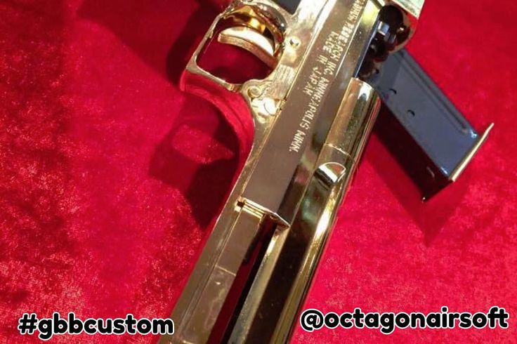 Tokyo Marui Limited edition Gold Desert Eagle (1:20). This one belongs to our friend #pheonix from @octagonairsoft! ---Follow our pages for exclusive GBB related content! @gasblowbackcentral @gasblowbackcustom @gbbcentralspike --- #airsoft #milsim #speedsoft #speedqb #gbb #gbbr #gasblowback #gbbcentral #gbbcustom #gasgunnation #gbboperative #airsoftinternational #airsoftobsessed #thumpy #airsoftmilitarynews #popularairsoft #milsimmedia #tokyomarui #hicapa #customairsoft #pewpew #ipsc #idpa…