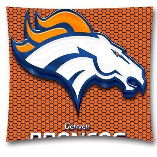 Christmas Design Denver Broncos Throw Pillow Covers,NFL