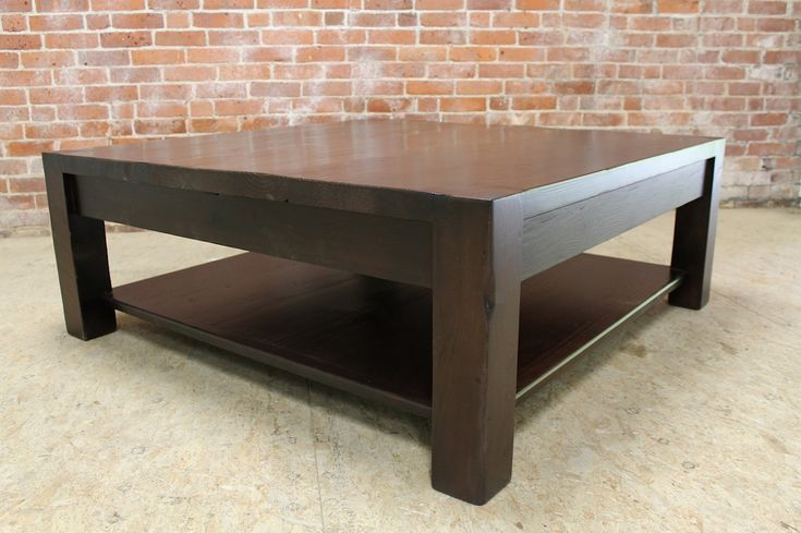 Square Espresso Coffee Table - Modern Living Room Furniture Sets Check more at http://www.buzzfolders.com/square-espresso-coffee-table/