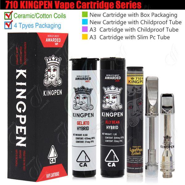 710 KINGPEN Vape Cartridges King Pen 510 Vaporizer 0 5 1 0ml