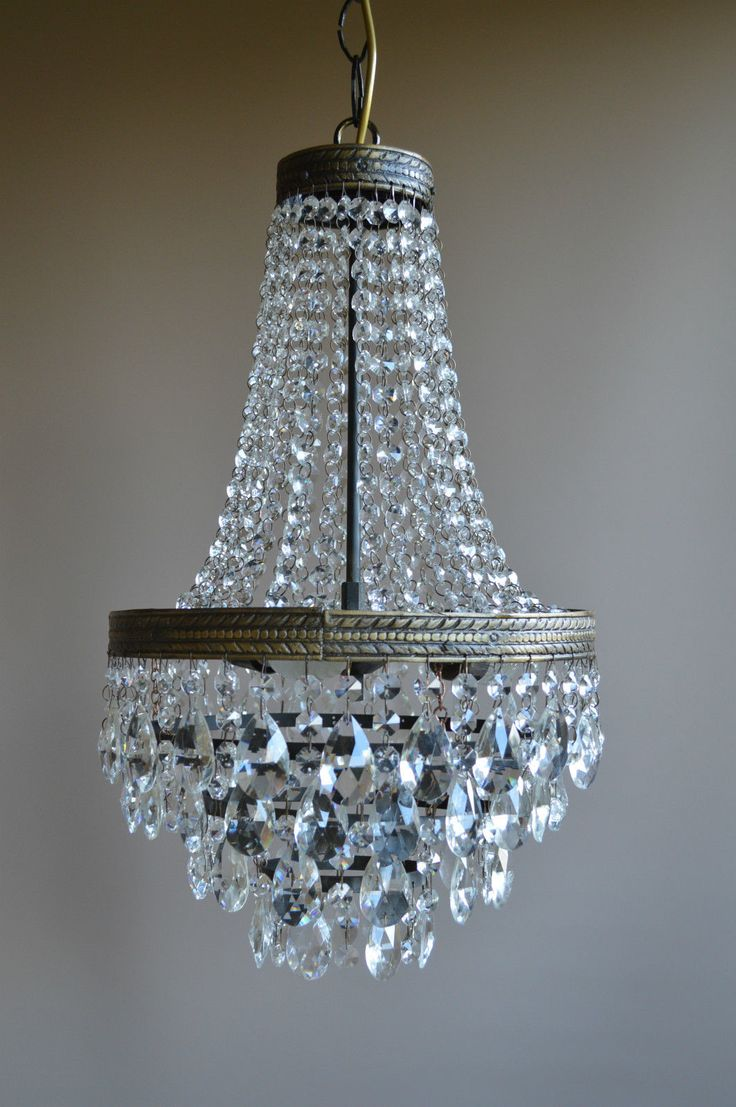 Lustre Waterfall Antique French Style Crystal Chandelier Nouveau lighting Lamp | eBay