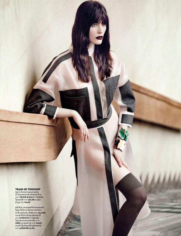 Patrycja Gardygajlo for Vogue Thailand August 2014 by Marcin Tyszka
