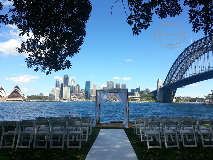 Harbourside Sydney Wedding ~ Kirribilli  www.circleofloveweddings.com.au