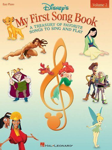 Disney's My First Songbook, Volume 2 by Hal Leonard Corp.. Save 22 Off!. $11.66. Series - Easy Piano (Book 2). Publisher: Hal Leonard Corporation (January 1, 2003). Reading level: Ages 4 and up. Publication: January 1, 2003