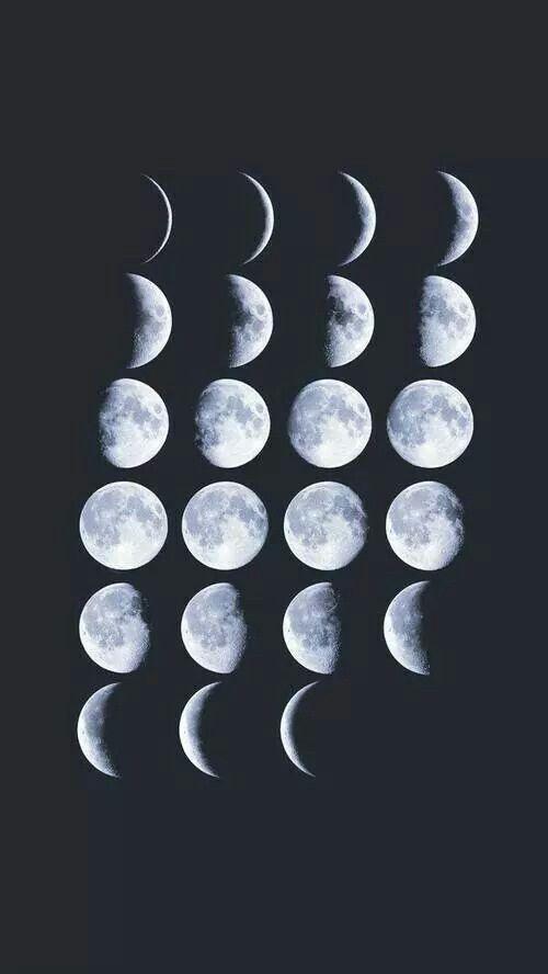 Hipster Girl Iphone Wallpaper Good On A Notebook Organization Moon Moon Art Moon