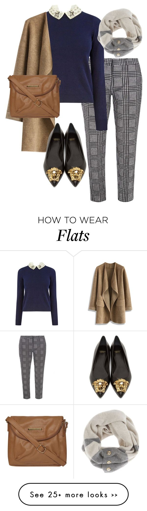 """Untitled #123"" by littlehamstr on Polyvore featuring Dorothy Perkins, Oasis, Chicwish, Versace and Henri Bendel"