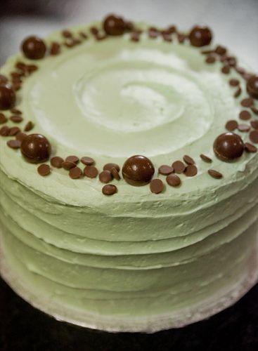 Grasshopper Cake - yumm!!
