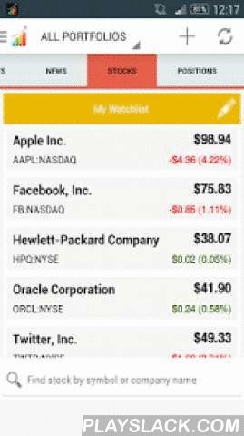 Stocks IQ - Stock Tracker  Android App - playslack.com , Stocks IQ is an all-in-one stock quotes and market watch app that lets you easily track stock prices, analyze and manage your portfolio and read up on relevant stock market news, designed to be free, simple yet comprehensive.Simply search for stock prices via stock ticker symbols or company names to add them to your trading portfolios, and you can start monitoring and/or receive customizable alerts for news and stock price…