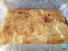 Aprende a preparar pastel de patata con jamón y queso al horno - ¡Sencillo pero exquisito! con esta rica y fácil receta. ¡Ya puedes preparar un pastel de papas con...