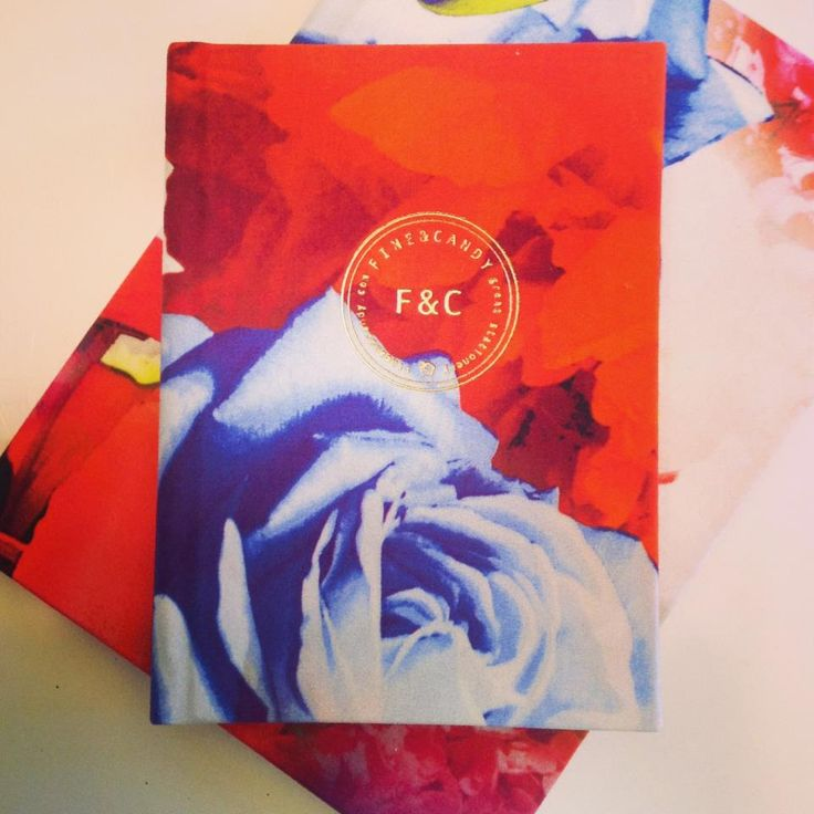 Fine&Candy stationery - Notebooks, diaries, photoalbums and guestbooks!