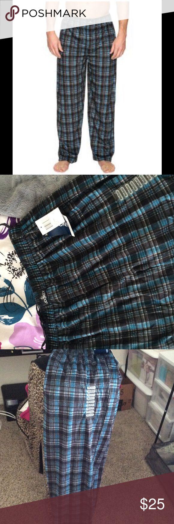 NWT Jockey Men's Sleepwear Fleece Fleece sleepwear bottoms. So comfy! Brand new. Make it yours! Jockey Pants