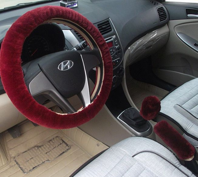 image Pleasure with car accessories and the husban