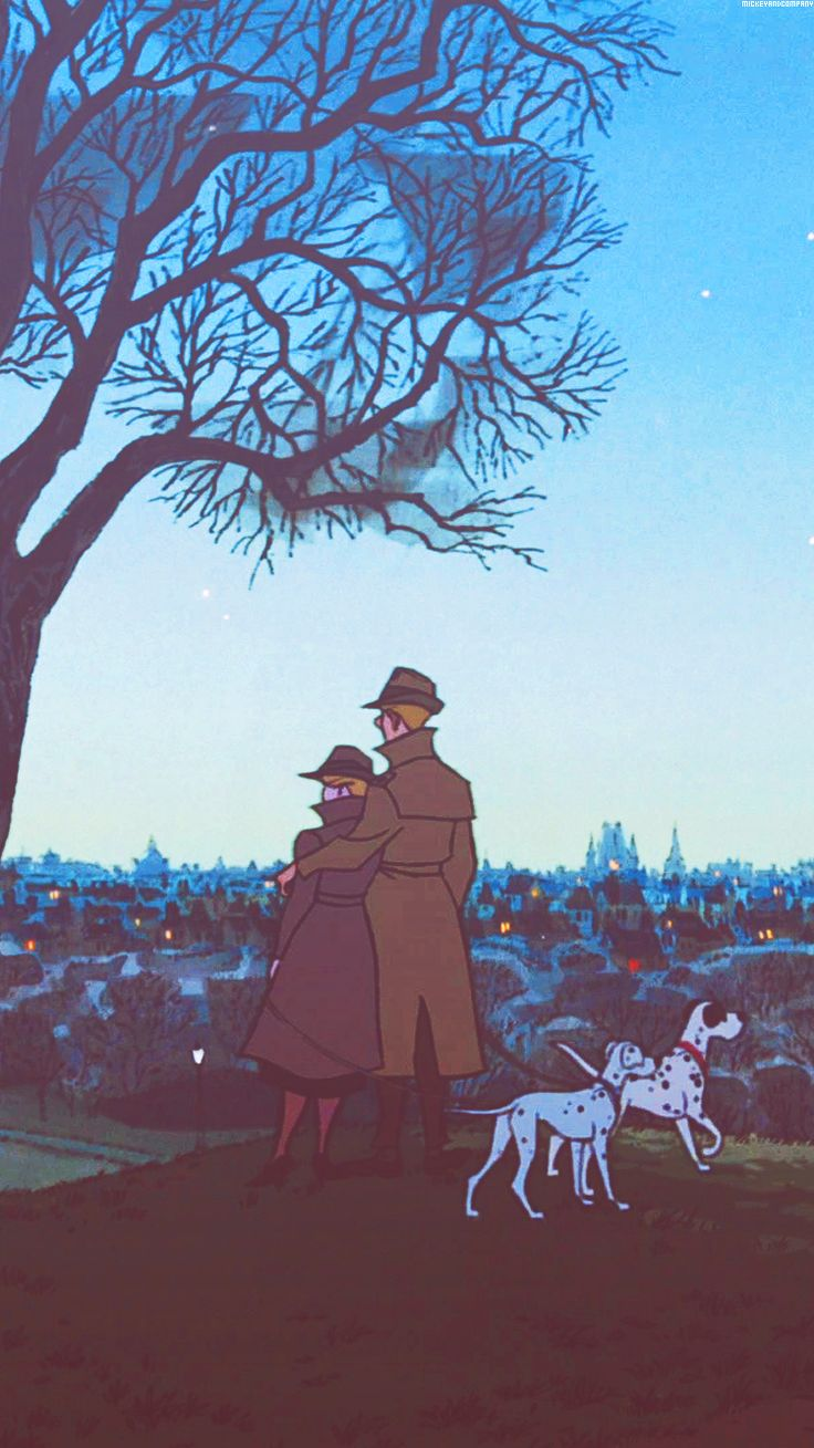 101 Dalmatians -- I watched this movie all the time when I was younger.