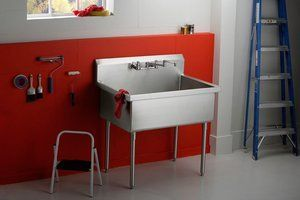 Adding a utility sink in the garage, how to keep pipes from freezing